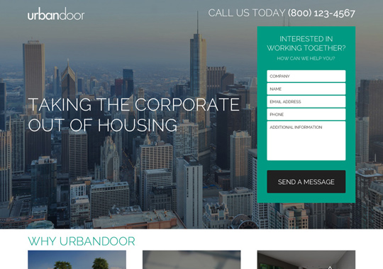 real estate company  example