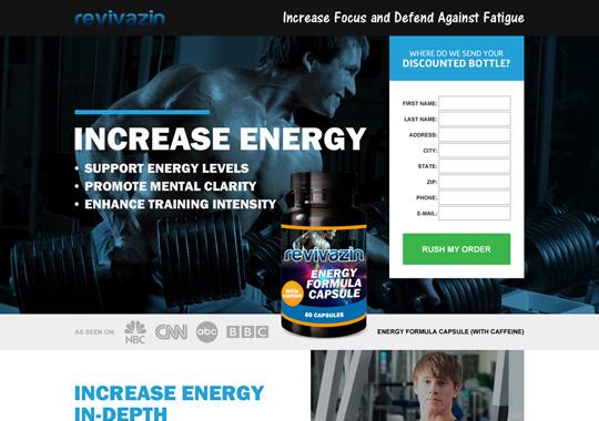 energy formula capsule  example