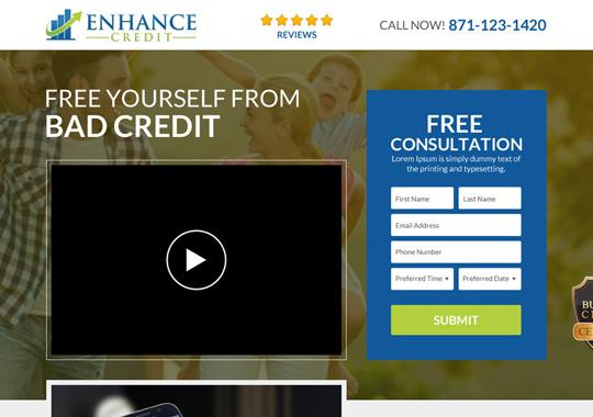 credit repair service  example