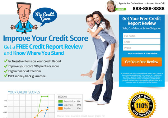free credit report  example