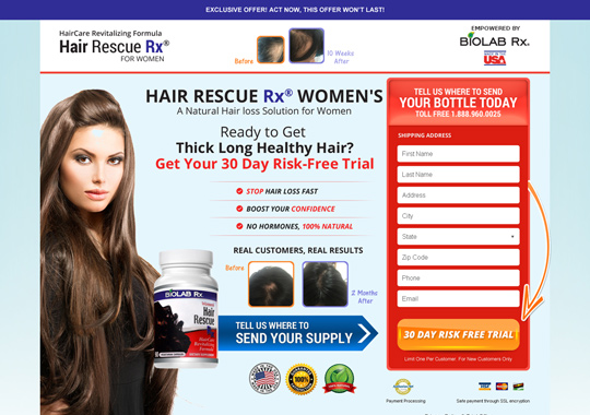 hair fall product  example