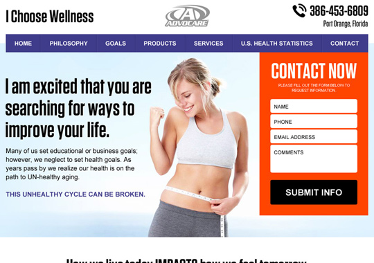 health and fitness  example