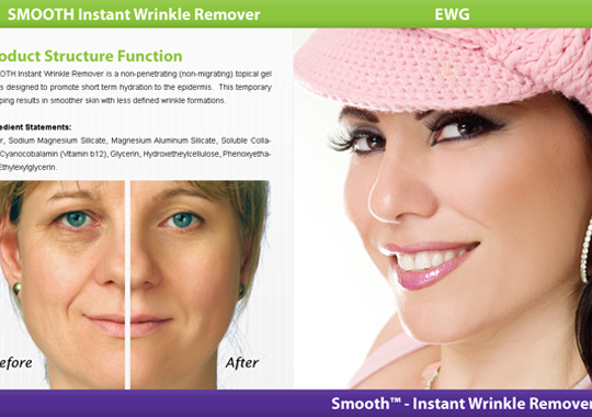 instant wrinkle remover  example