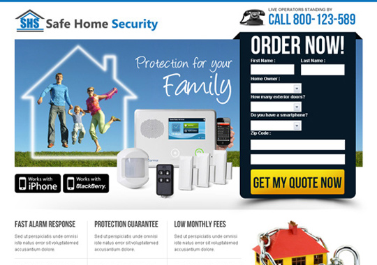 home security product  example