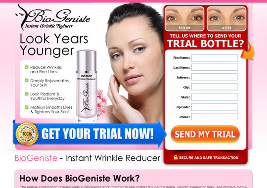instant wrinkle reducer trial  example