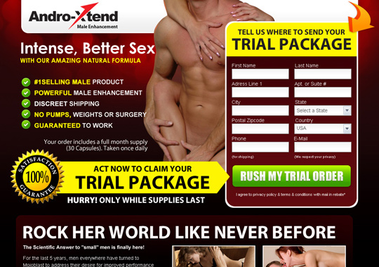 natural male enhancement trial  example