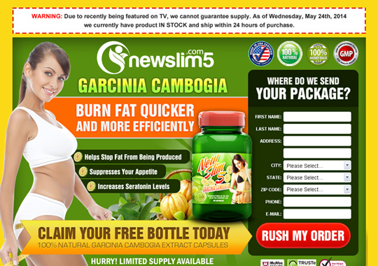 garcinia cambogia free bottle  example