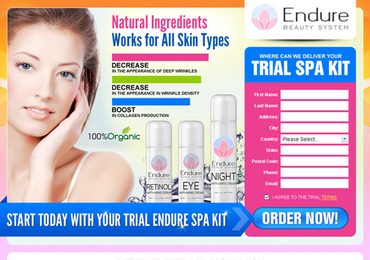 beauty system trial spa kit  example