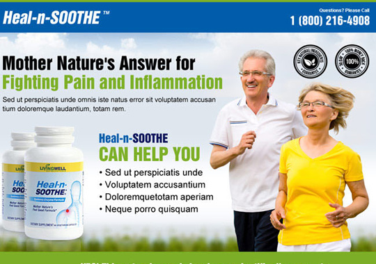 fighting pain and inflammation  example