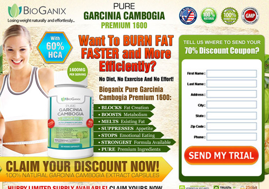 garcinia cambogia trial bottle  example