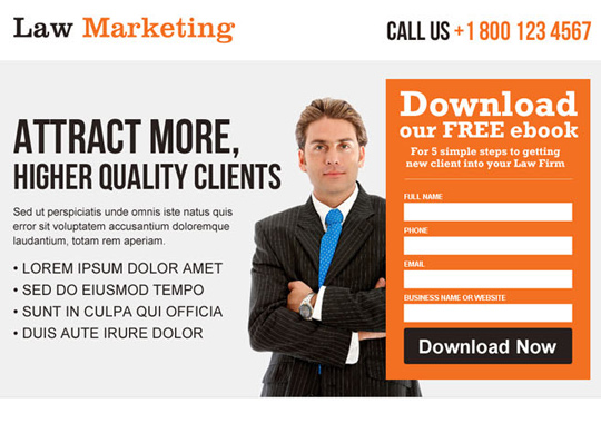 law marketing free ebook  example