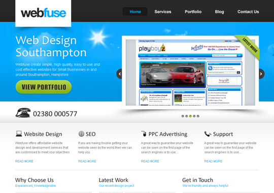 web design service  example