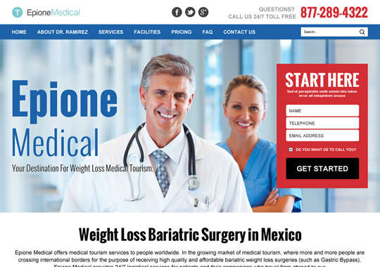 weight loss medical tourism  example