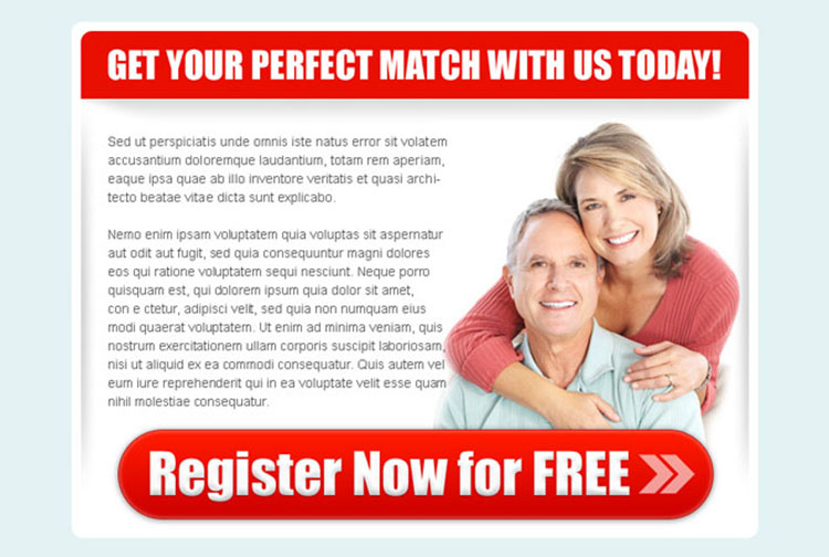 get your perfect match attractive ppv landing page design