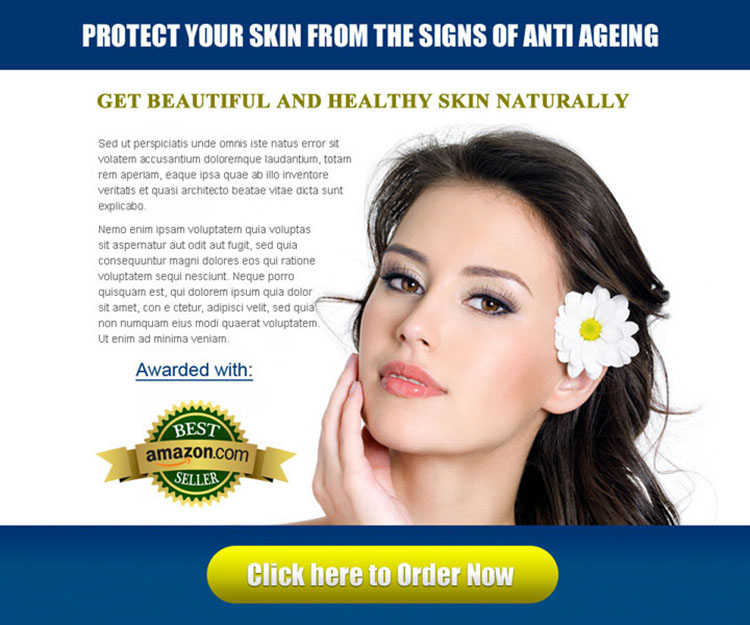 protect your skin from the signs of anti ageing skin care attractive ppv landing page design