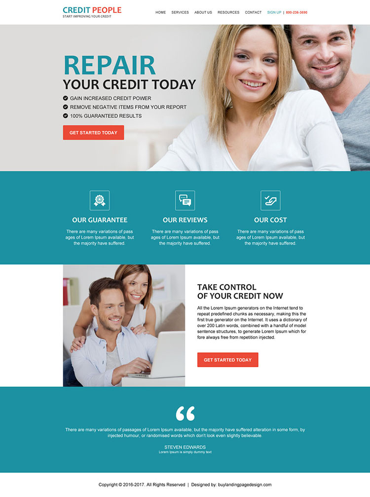 best credit repair companies html website template design