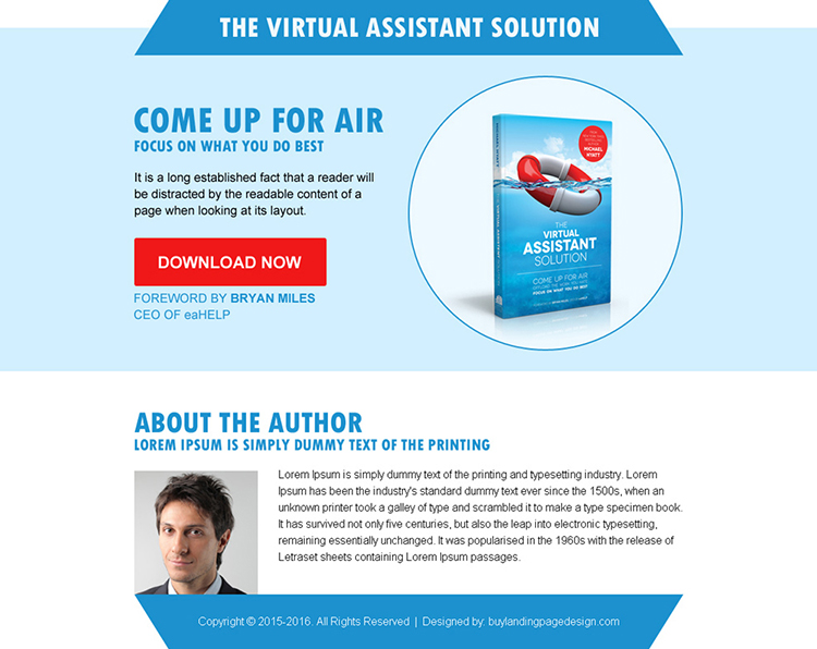 best e-book cta ppv landing page design template