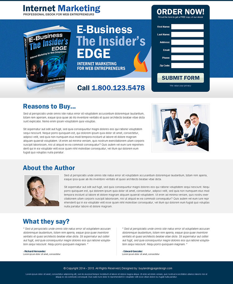 appealing and attractive ebook for internet marketing