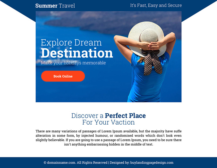 best summer travel destinations ppv landing page