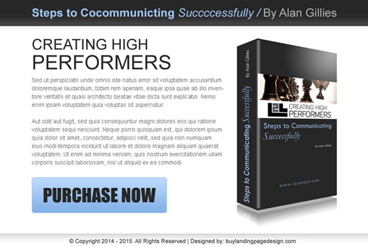 ebook html ppv landing page design for business opportunity