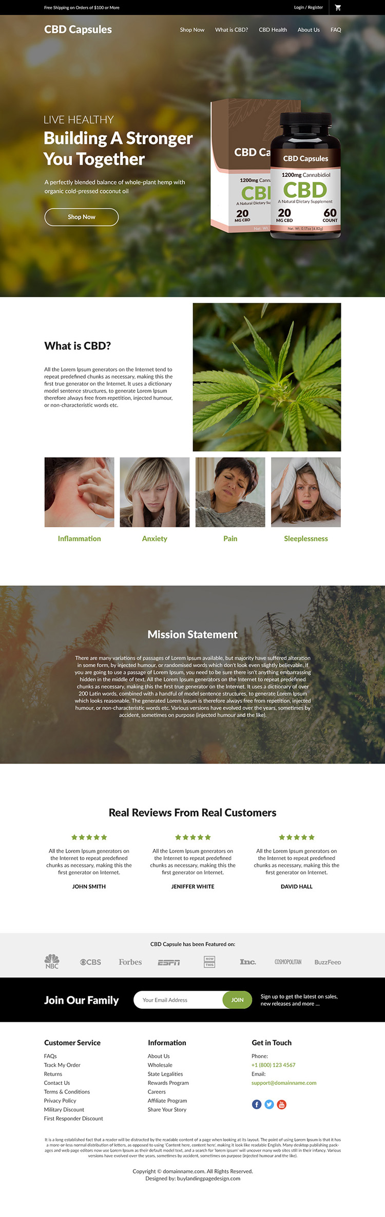 cannabidiol capsules selling responsive website design