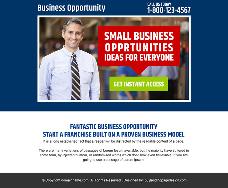 small business opportunities PPV design
