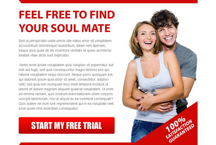 find your soul mate attractive ppv landing page design template