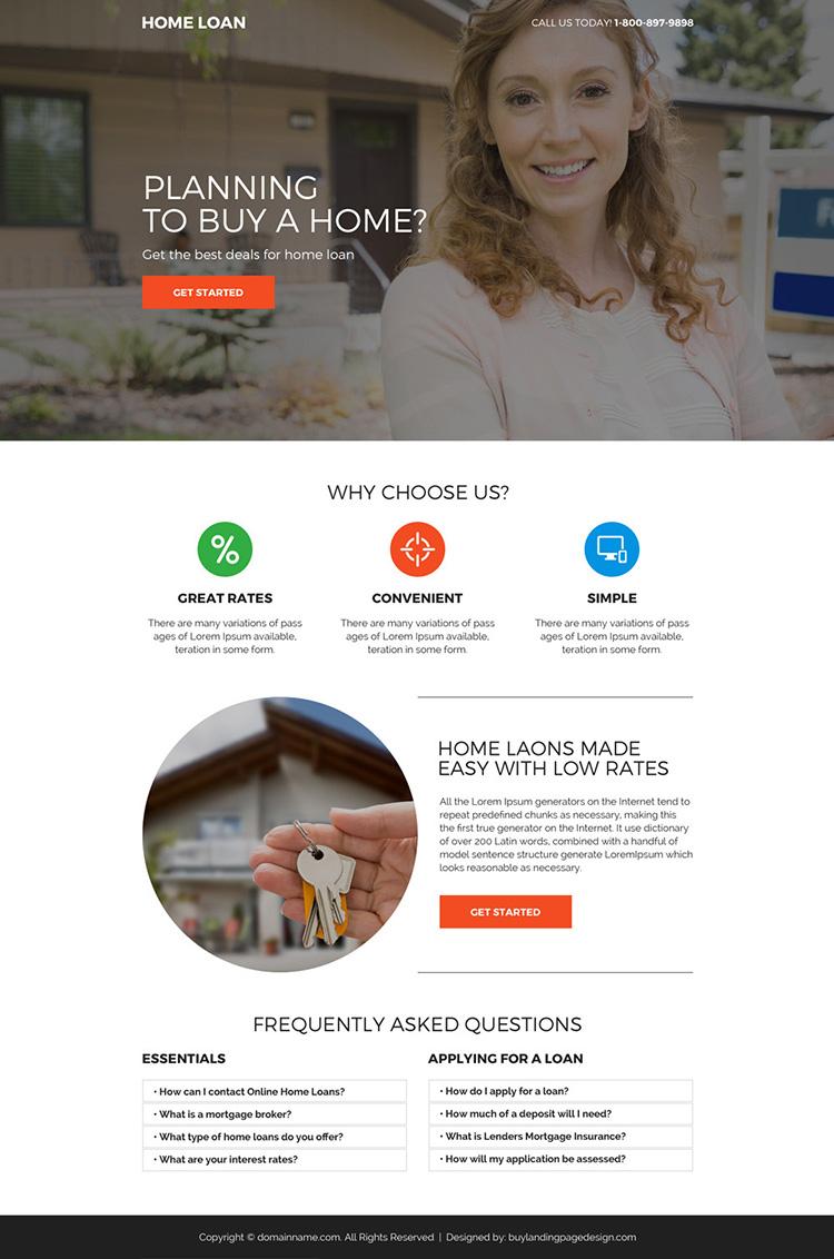 Responsive Design Landing Page Template