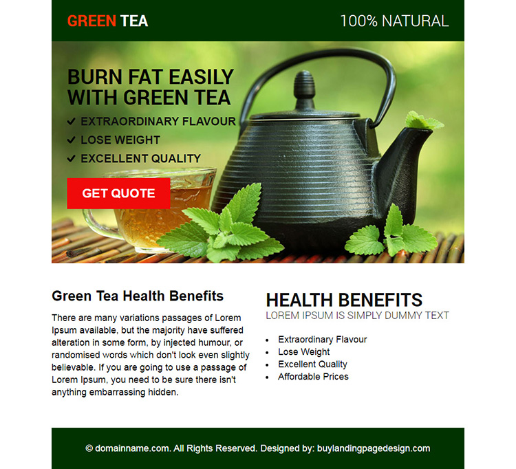 green tea health benefits ppv design