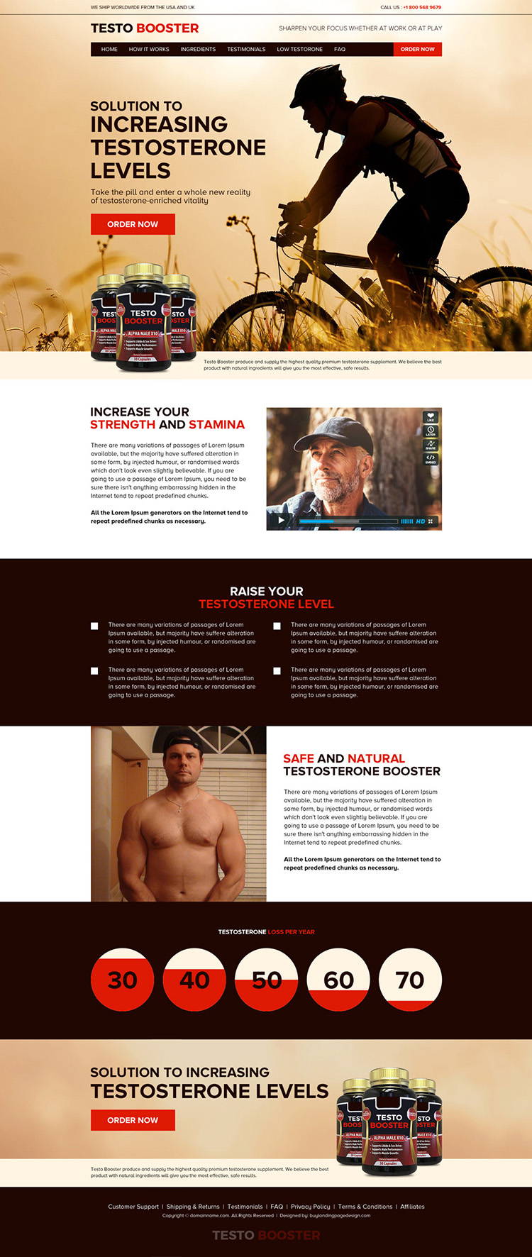 low testosterone pills selling responsive website design