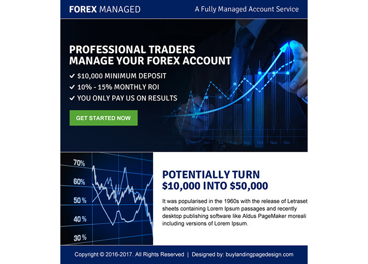 We manage your forex account