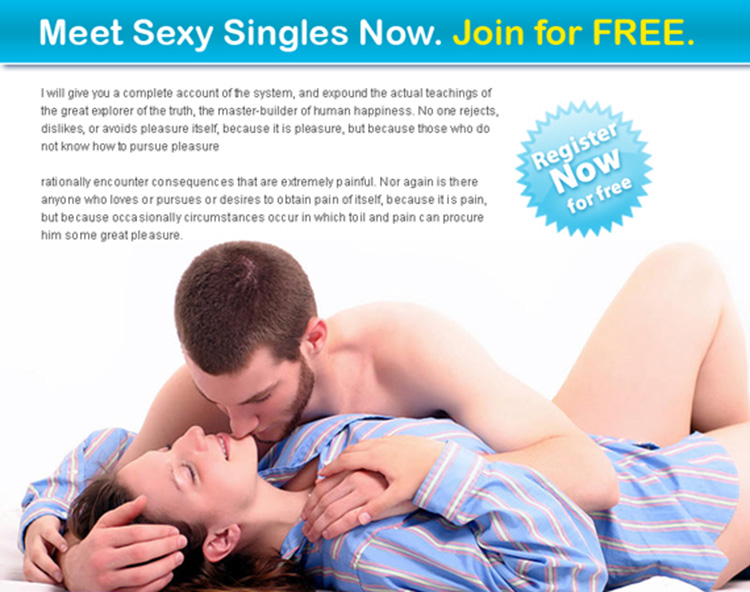 Dating landing page ppv