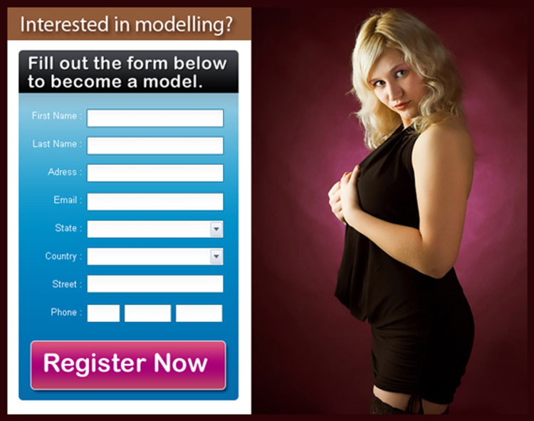 Previous Next become a model clean and effective lead capture ppv landing  page design template
