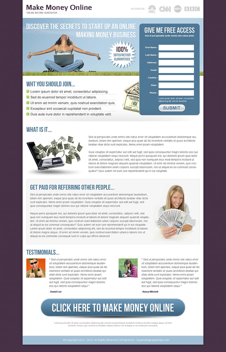 Free lead capture page templates 28 images solar for Lead capture page templates free