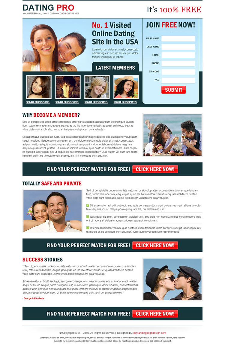 make a dating site for free