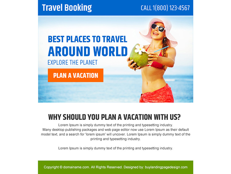 plan a vacation appealing PPV design