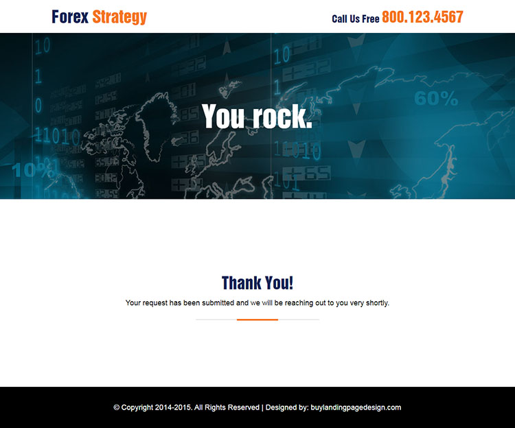 best forex video sign up lead capture responsive landing page design