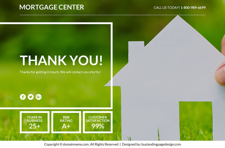 best mortgage marketing sales funnel landing page design