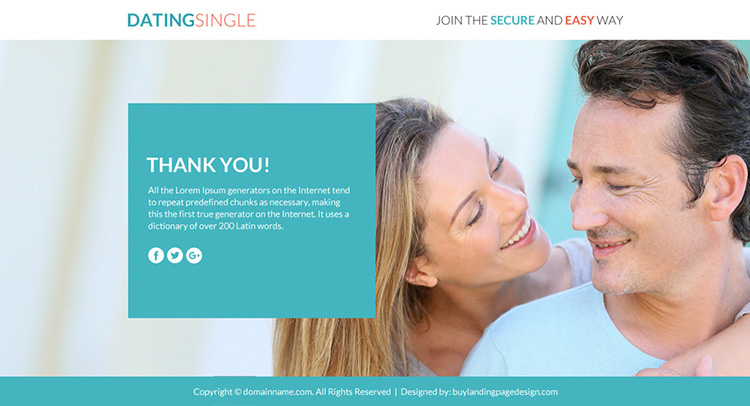 dating membership sign up responsive funnel design