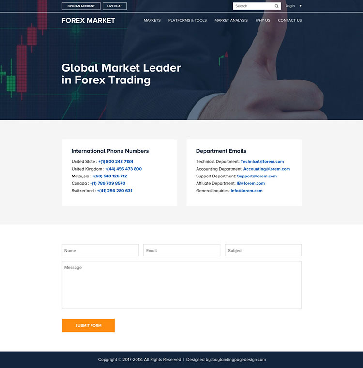 Forex website design india