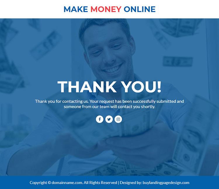 make money online responsive lead funnel design