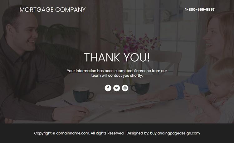 mortgage company responsive video funnel design
